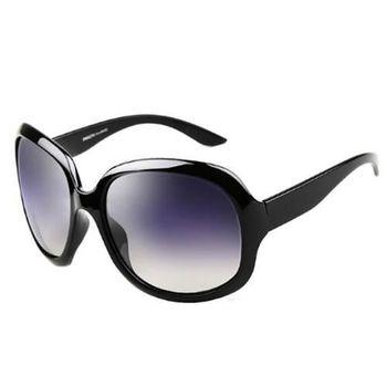 【米蘭精品】偏光 太陽眼鏡 抗UV墨鏡 白/紫/酒紅/亮黑/咖啡色