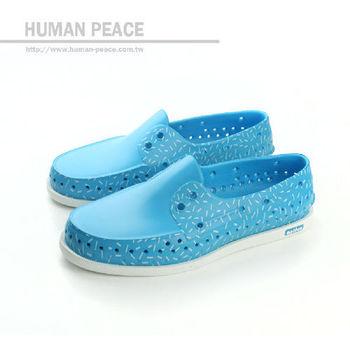 native HOWARD 洞洞鞋 藍 女款 no290