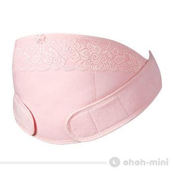 【ohoh-mini】 歐歐咪妮托腹帶(未滅菌)-涼爽紗/粉色