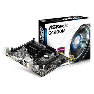 ASROCK華擎 Q1900M 內建 Intel4核心CPU 主機板《原廠註冊四年保固》