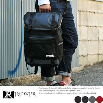 【TRICKSTER】MonoMax雜誌款 後背包 電腦包 書包 B4 大容量 雙肩包 22L防水材質【tr1436】