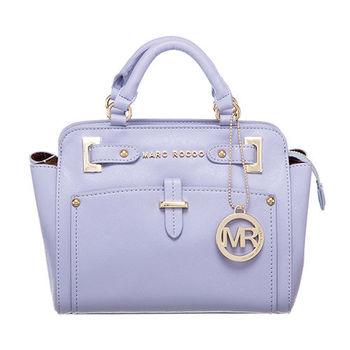 MARC ROCOO 法式時尚經典手提斜背二用包-106(薰衣草紫)