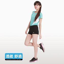 彈性伸縮戶外運動/瑜珈短褲(森森購物 東森購物S-XL 黑色)