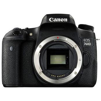 [32G+原電組]【Canon】 EOS 760D 單機身(公司貨)