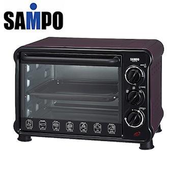 『SAMPO聲寶 』 18公升 電烤箱 KZ-PU18/KZPU18