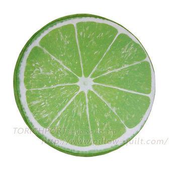 創意立體水果造型坐墊 -檸檬