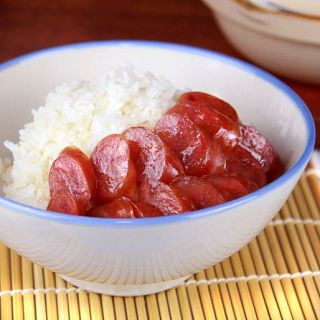 【一等鮮】金門高粱酒香腸紅麴香腸12包組 (高粱酒香腸*6+紅麴香腸*6)