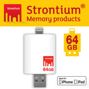Strontium Apple iDrive 64GB OTG 3.0 高速行動隨身碟