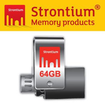 Strontium OTG 3.0 USB 64G 高速行動隨身碟