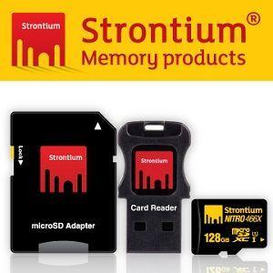Strontium Nitro UHS-1 Class10 Micro SDXC 128GB 三合一 記憶卡 (附贈轉卡,讀卡機)