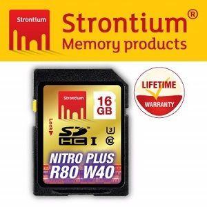 Strontium NITRO PLUS UHS-1 U3 SD 16GB 高階SD記憶卡