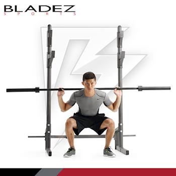 【BLADEZ SPORTS】BW-12 重量訓練蹲舉架、槓鈴架、舉重床架