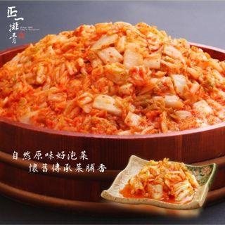 【正一排骨】 韓式經典泡菜6罐-700G/罐