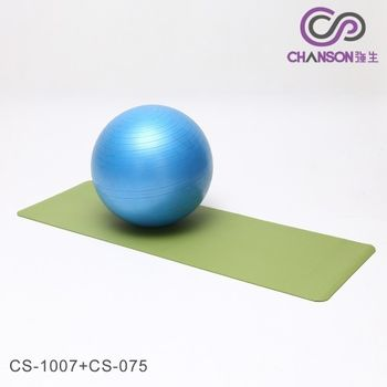 【強生CHANSON】瑜珈墊+抗力球 (CS-1007+CS-075)