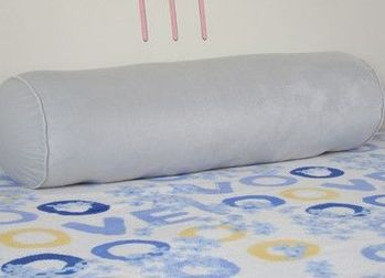 純色超長圓抱枕床頭頸枕沙發腰枕糖果枕男朋友靠墊可拆洗