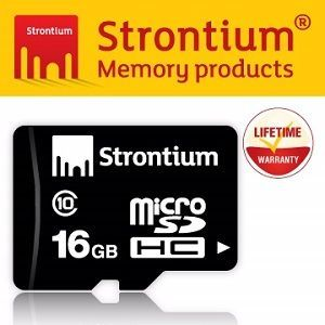 Strontium Basic Micro SD 16GB Class 10 記憶卡