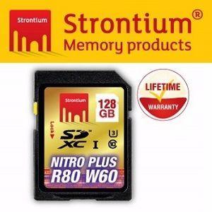 Strontium NITRO PLUS UHS-1 U3 SD 128GB 高階SD記憶卡