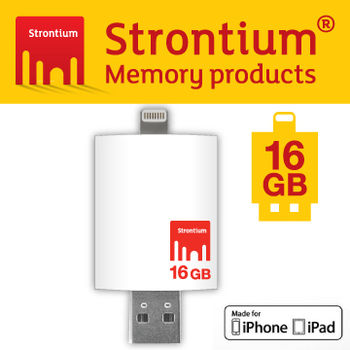 Strontium Apple iDrive 16GB OTG 3.0 高速行動隨身碟