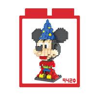 LOZ 鑽石積木 ^#45 9420~動畫系列~ ^#45 米奇魔法師裝