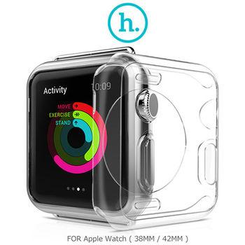 HOCO Apple Watch (38mm / 42mm) 超薄TPU保護套 透色套 透明套