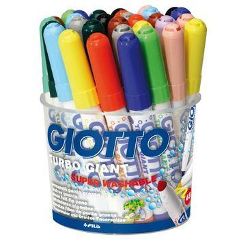 【義大利 GIOTTO】超好洗粗細雙效彩色筆(12色36支) 424900