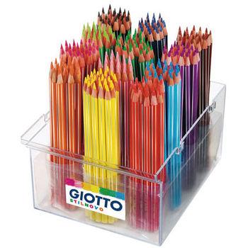 【義大利 GIOTTO】STILNOVO 學用六角彩色鉛筆(12色)(192支校園裝) 526600