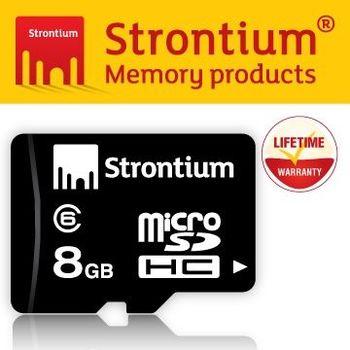 Strontium Basic Micro SD 8GB Class 6 記憶卡