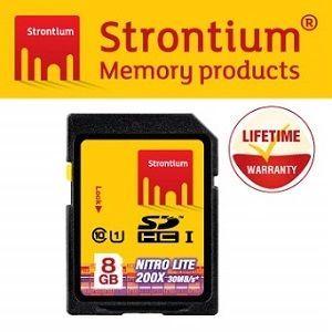 Strontium NITRO LITE UHS-1 Class10 SD 8GB 快速SD相機記憶卡