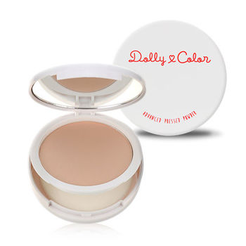 Dolly Color 傳明酸光透柔膚礦物粉餅