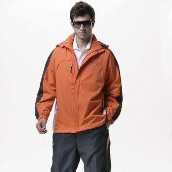 【SAIN SOU】防水/防風/透氣/可拆式防風帽兩件式外套加贈造型短襪x1雙T27016