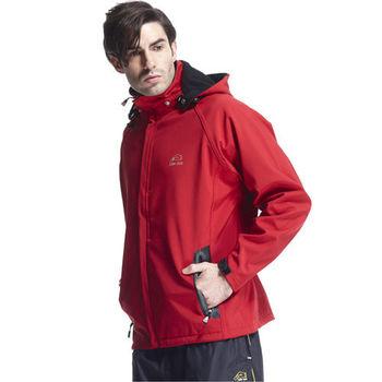 【SAIN SOU】防水/防風/透氣/保暖+可拆式防風帽外套加贈造型短襪x1雙T27312-03