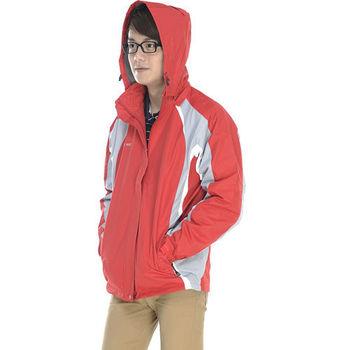 【SAIN SOU】防風防潑水透氣機能型可拆式防風帽外套加贈造型短襪x1雙T27417