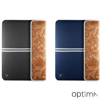 【Optima 】MacBook 12吋sleeve筆電保護袋 Summer系列- 丹寧藍/淺灰
