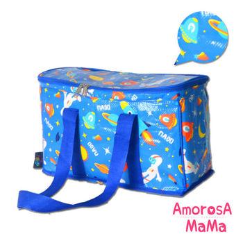 【Amorosa Mama】多用手提式保冷保溫袋/野餐包/保鮮袋 (小宇宙)