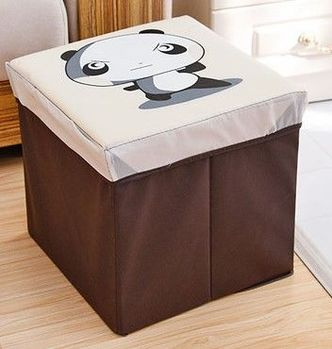 復古收納凳大號換鞋凳儲物箱折疊省空間儲物盒兒童玩具收納箱