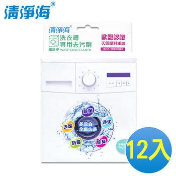 《清淨海》槽洗淨 洗衣槽專用去污劑 300g(12入/箱)