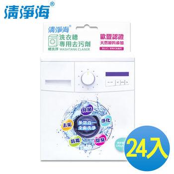 《清淨海》槽洗淨 洗衣槽專用去污劑 300g(24入/2箱)