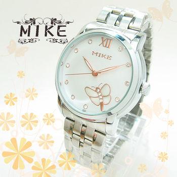 MIKE精緻蝴蝶鑲鑽日本機芯防水錶