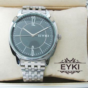 EYKI時尚都會簡約鋼錶