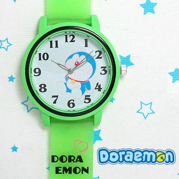 哆啦A夢 可愛坐姿繽紛果凍錶