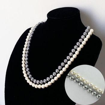 【xmono】愛媽咪南洋貝珍珠項鍊耳環套組(買項鍊送2對耳環)