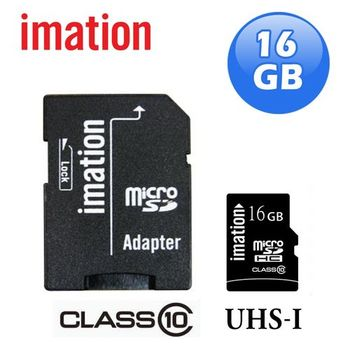 imation Class10 UHS-I Micro SDHC記憶卡(16GB)