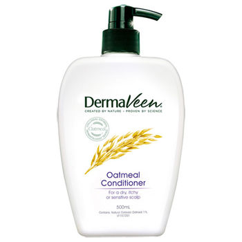 即期品 Dermaveen得麥膚 燕麥全效舒緩潤髮乳 500ml
