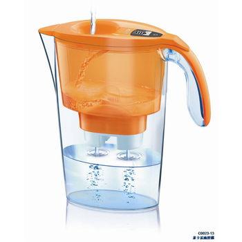 【LAICA 萊卡】淨水壺(一壺一芯) 時尚橘
