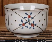 日韓式和風陶瓷碗手繪釉下彩 青花瓷家用米飯碗