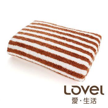 LOVEL 開纖紗牛奶條紋浴巾(共四色)