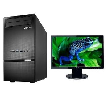 【ASUS華碩】D310MT i3-4170雙核 Win7Pro PC+VE198T 19吋LCD 組