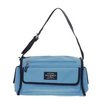 RL POLO 時尚實用側背包(藍)