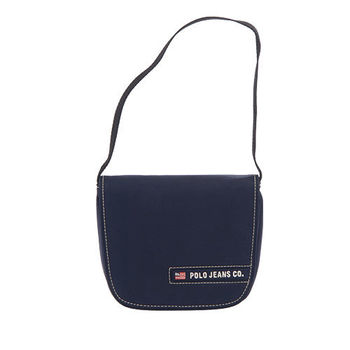 RL POLO 極簡小巧肩背包(藍色)