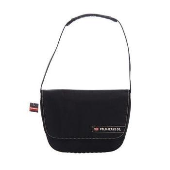 RL POLO 流行時尚肩背包(黑)